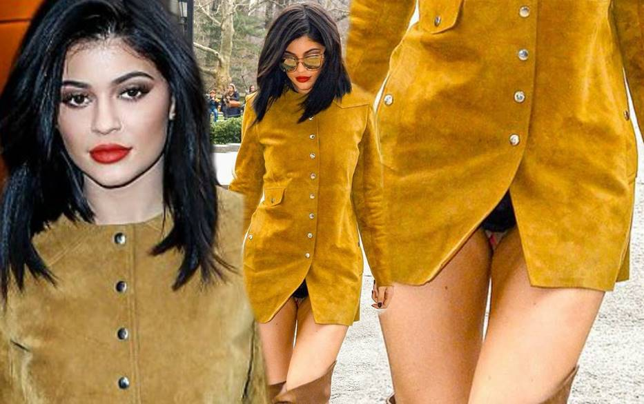 Kylie Jenner's Wardrobe Malfunction That Made a Buzz Online